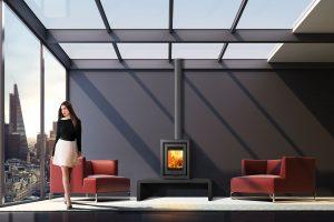 Di Luso Cube R4 Cento Stove The FireBox Deal Kent