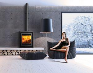 Di Luso Cube R5 Stove The FireBox Deal Kent