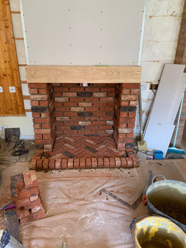 Firebox Stove Installation
